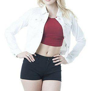 Ella Moss Womens Denim Jacket Jeans Coat